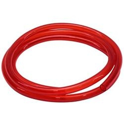 "Red see through fuel line 3/8"" x 6'"
