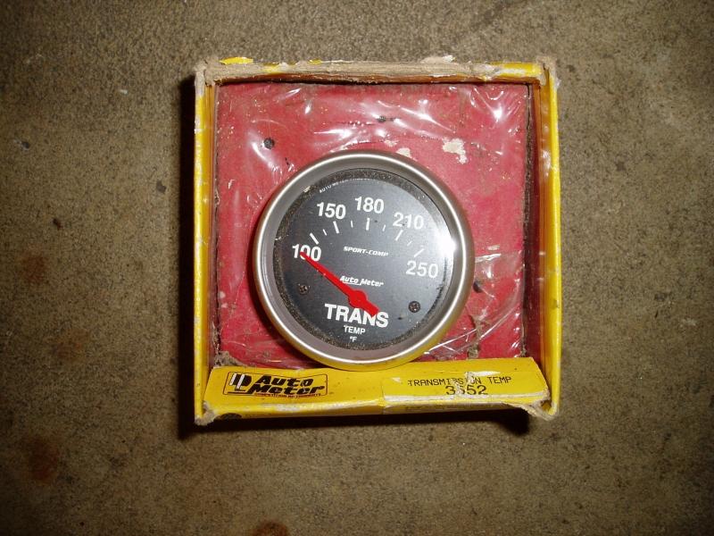 Auto meter trans temp gauge