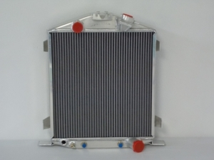 1932 Ford Hi-Boy Radiator with Chevy Motor