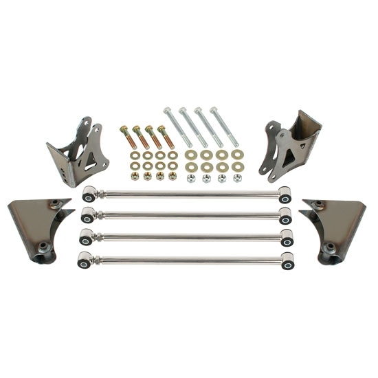Speedway Model T, A, 1932-34 Four Bar Rear Suspension Kit, Stainless Steel