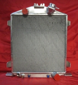 1932 Ford Lo-Boy Radiator with Chevy Moto