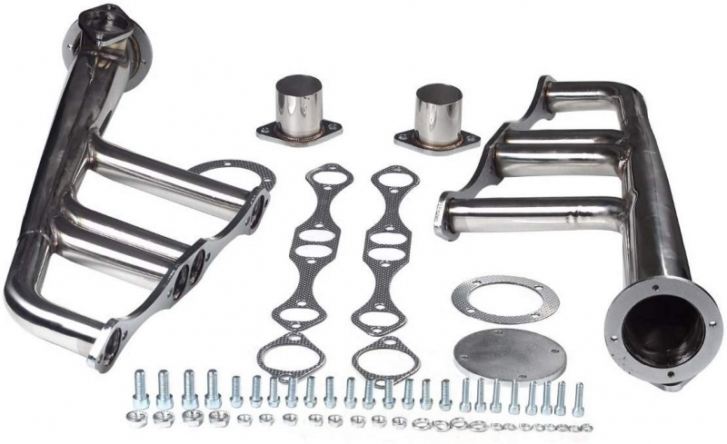 SBC STAINLESS LAKES STYLE HEADERS