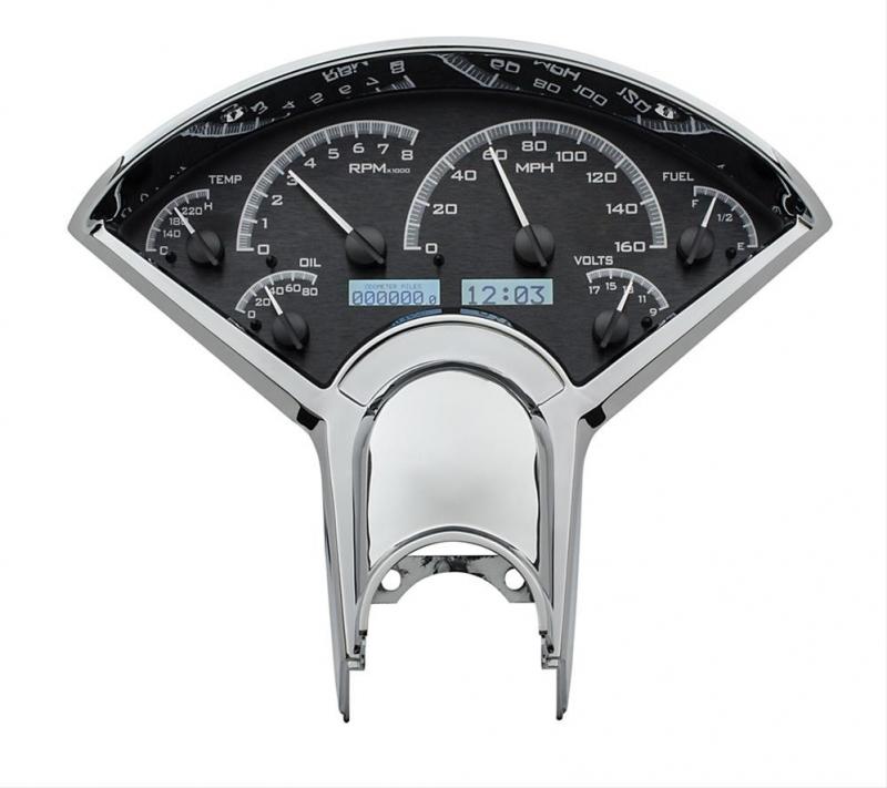Dakota Digital VHX Series Direct-Fit Analog Gauge Systems VHX-55C-K-W
