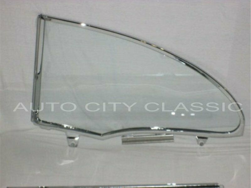 1955-1957 Chevrolet / Pontiac 2 Door Hardtops Assembled Quarter Glass Q2018TA